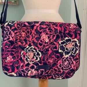 Vera Bradley Katalina Pink laptop bag